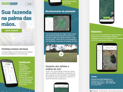 Agro landing page
