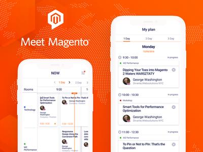 Conference App Design - Meet Magento