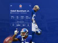 NFL Player Stats App