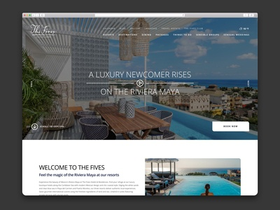 The Fives – Hotel Website