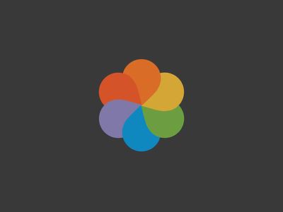Pinwheel rainbow colorful pinwheel