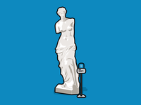 Venus De Milo - Physical Web Museum Use Case