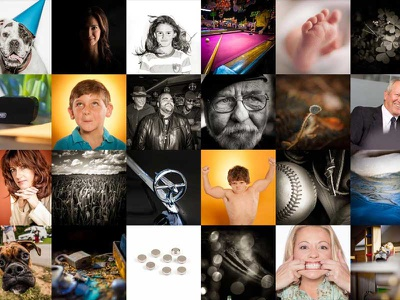 New Photo Grid grid gallery portfolio pictures photography photo