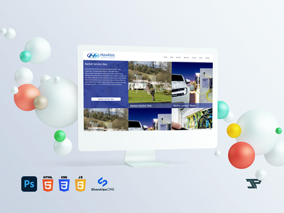 Hawkins Electrical Marketing Website silverstripe php photoshop js jquery javascript html5 html design css3 css cms adobe