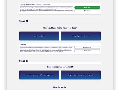Debtshelf - Debt Collection and Support Platform admin portal dashboard ui css3 code html vue