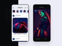 Instagram Redesign UI Concept