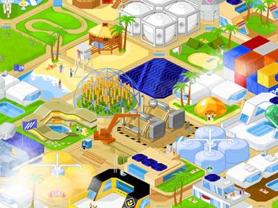 Shiny Islands game concept