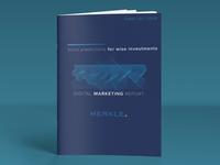 DMR (Digital Marketing Report) Cover Design 1