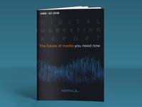 DMR (Digital Marketing Report) Cover Design 2