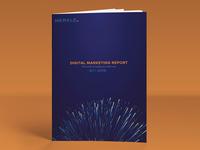 DMR (Digital Marketing Report) Cover Design 3