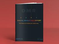 DMR (Digital Marketing Report) Cover Design 4