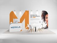 Merkle 2019 Tradeshow Booth Concept