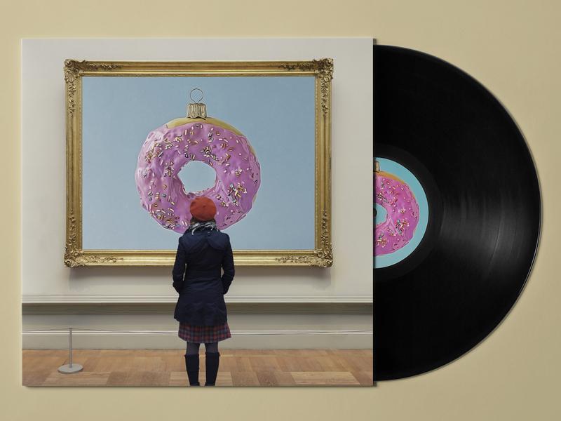 The Eitemiller Christmas Vol 17 design cover art direction music design album art cover art packaging pace