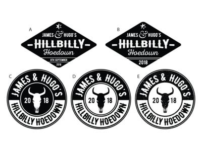 Hillbilly Hoedown Logo