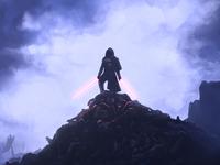 Facing Sith Lord