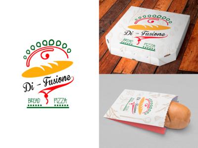"""""""Di-fusione"""" logo design aplication"""