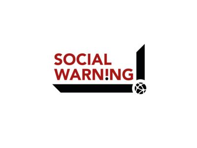 """Social Warning"" Product & logo design"