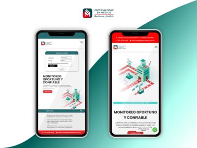 """""""Especialistas en Medios"""" Sign in integration - Mobile"""