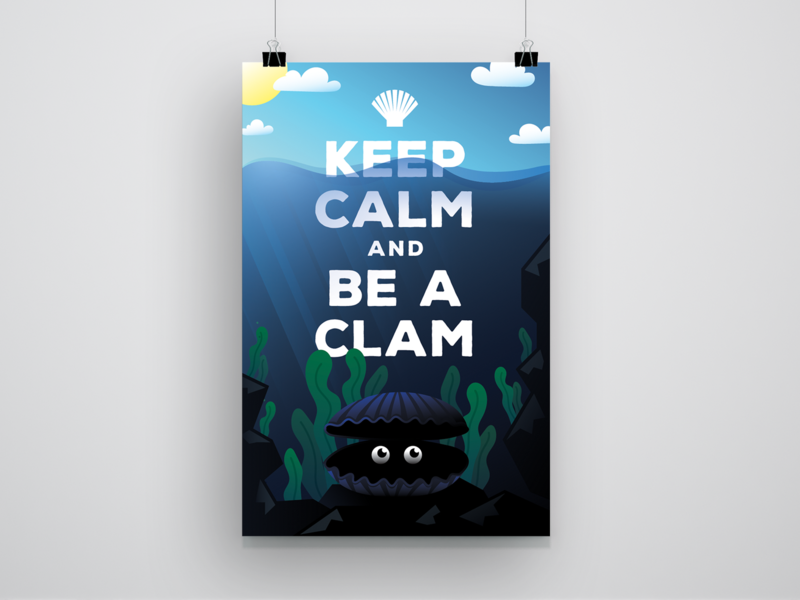 KEEP CALM — Poster Design