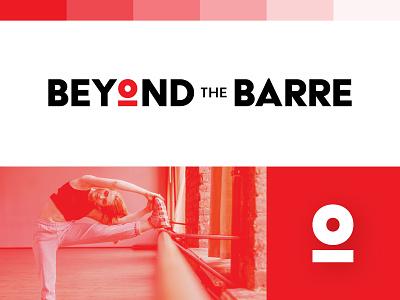 BEYOND THE BARRE  -  Logo Design barre gym fitness branding washington seattle simple modern brand clean logo