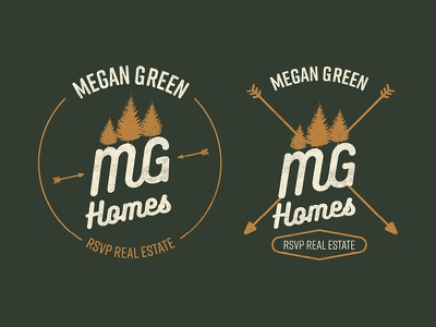 MG Homes edmonds brand logo pnw vintage