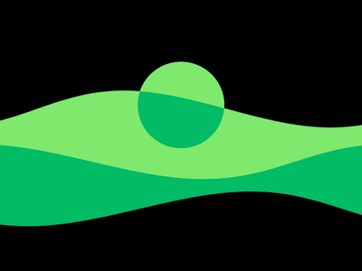 journey in green flow state motion graphics motion after effects