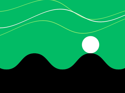 journey in green two flow state animation motion graphics after effects