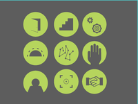 Icons for a Corporate Presentation