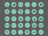 Flat Icons for Presentation