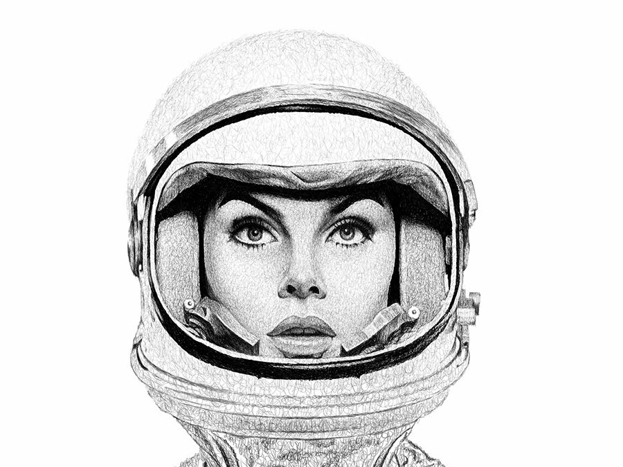 Space Girl By Ihor Zghurskyi On Dribbble