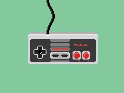 Gamepad. Pixel art.