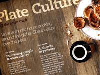 Plateculture landing page