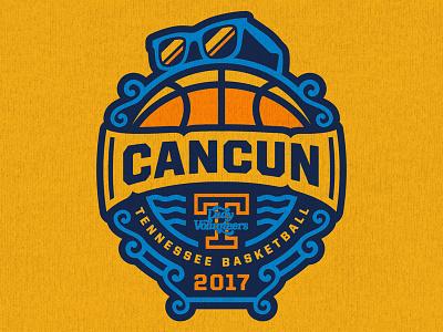 UT Lady Vols Cancun Trip apparel t-shirt logo sunglasses cancun tennessee ut sports basketball