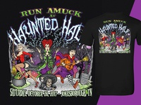 Haunted Half Race T-Shirt