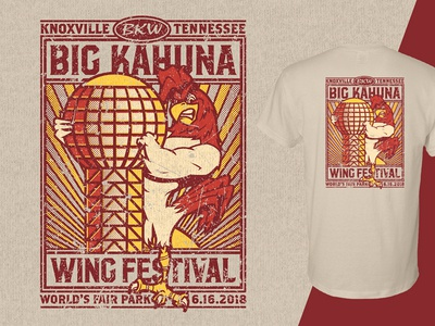 Big Kahuna Wing Festival 2018