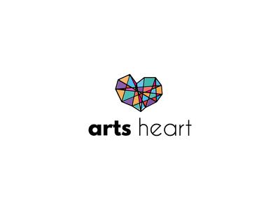 Arts heart logo