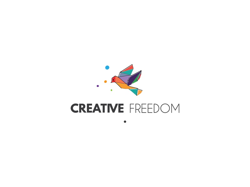 Creative Freedom Logo By Umuarus On Dribbble