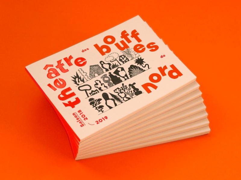 Theatre Program 2018-2019 paris london symbols form design art program theatre laurierollitt