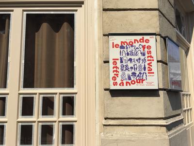 Paris Theatre Poster