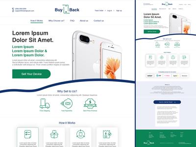Phone BuyBack - Landing Page