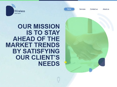 D Wireless / Web Site Design