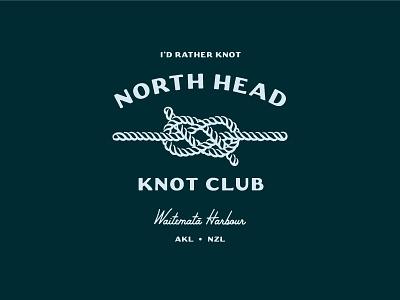 Knot Club indaclub tee design typography illustration