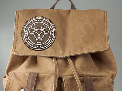 Elk Parkway Back Pack cafe center packaging icon branding illustration logo design design logo
