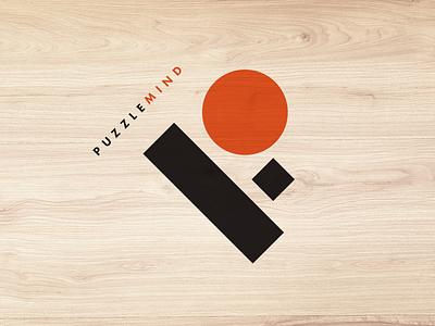 Puzzle Mind Logo brochure international identity packaging icon branding illustration logo design design logo