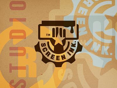 Screen Ink Logo silkscreen quality printing logo ink design art