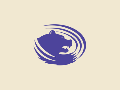 Butler College Grizzlies Logo ferocious team sport logo grizzlies