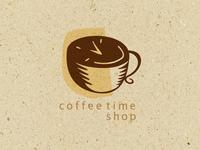 Coffee Time Shop Logo