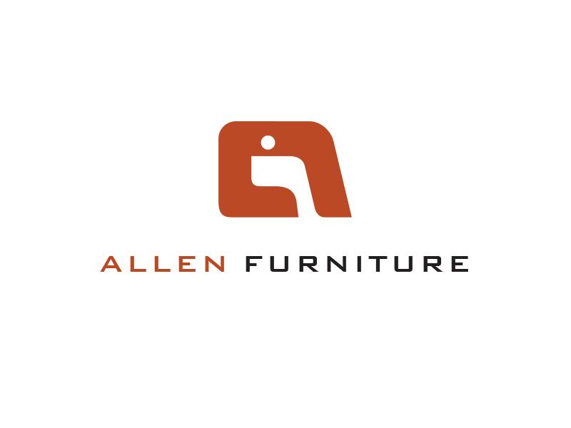 Allen Furniture Logo logo furniture allen