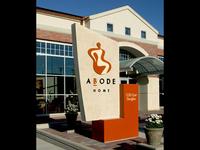 Abode Home Signage
