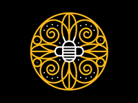 Bee Flower Yellow
